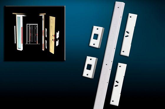 for doors with a single sidelight on the lock side of the door & Best Door Reinforcement Kit 2018
